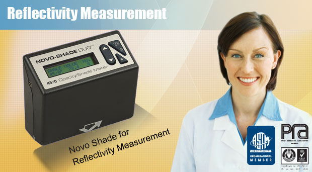 Novo Shade Reflectivity Meter