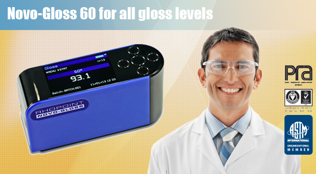 Novo-Gloss 60 for all gloss levels